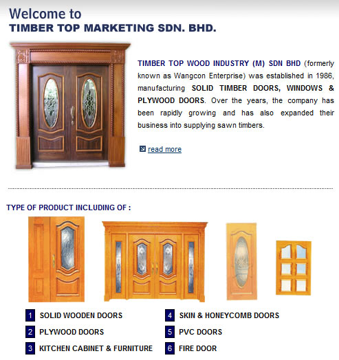 TIMBER TOP MARKETING SDN BHD