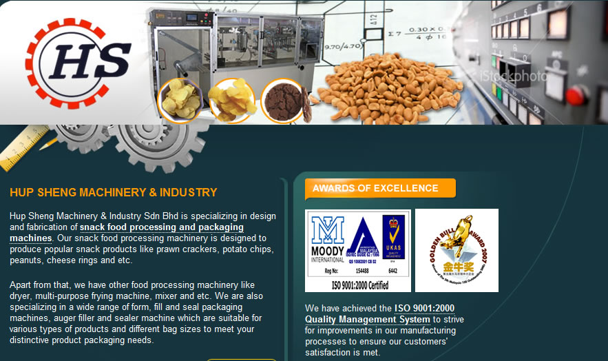 HUP SHENG MACHINERY & INDUSTRY SDN BHD