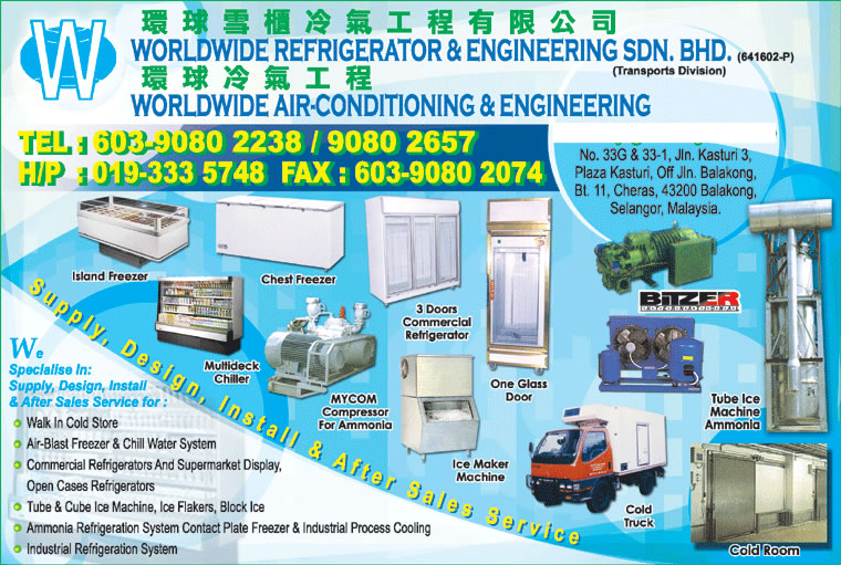 WORLDWIDE CONTAINER & TRANSPORT SDN BHD