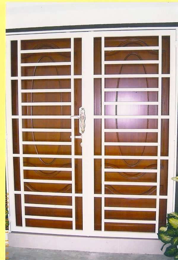 Powered by for Entrance grill door designs