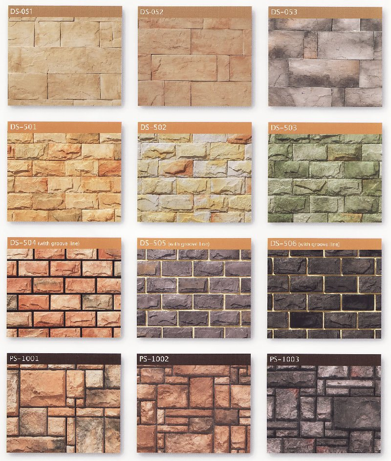 Decor stone for Different types of stone for houses