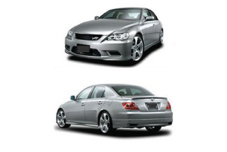 Toyota Mark X Bumber