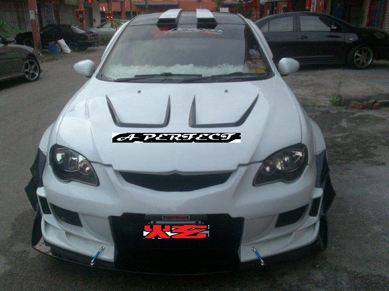 gen  custom body kits proton johor bahru jb malaysia body kits  perfect motor sport