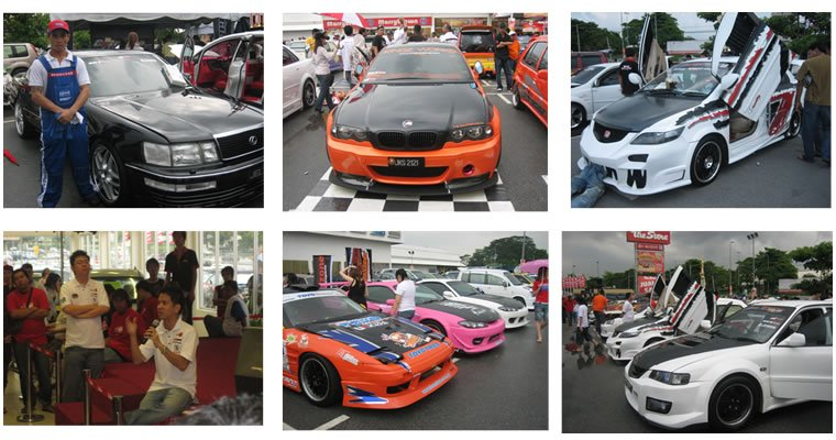 Supwave Paricipant In Car Show 2008 - won 2nd Runner Up