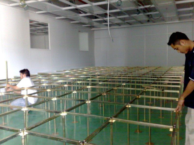 Clean Room Raised Floor : Raised floor system clean room all class of