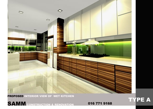interior design johor bahru . tv cabinet and wall panel