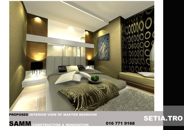 interior design .Setia Tropical.