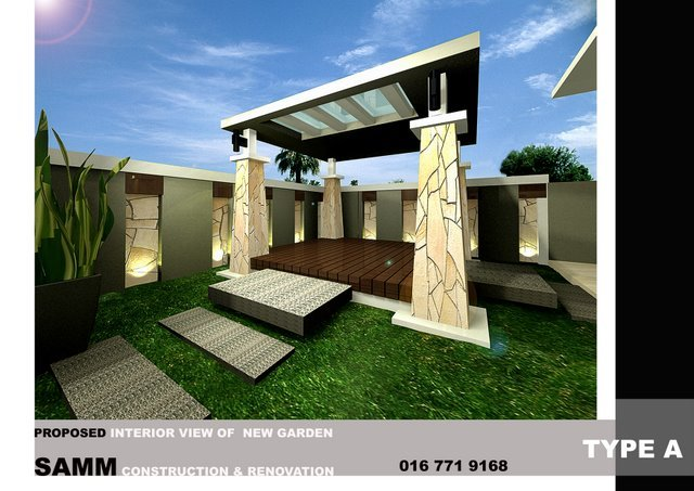 Bungalow house build at Kulai . Build bungalow at johor bahru
