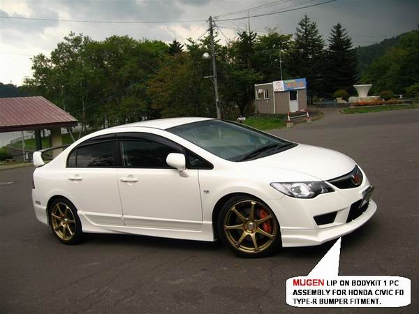 honda civic type r mugen body kit. Black Bedroom Furniture Sets. Home Design Ideas