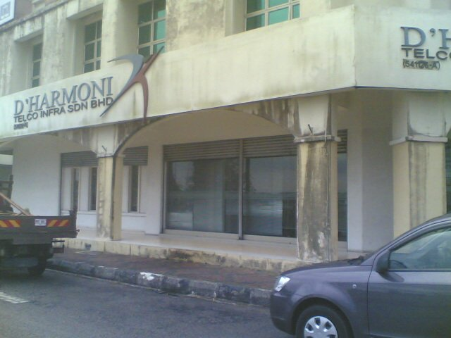Design New Office.Office Renovation.Taman Daya(before)