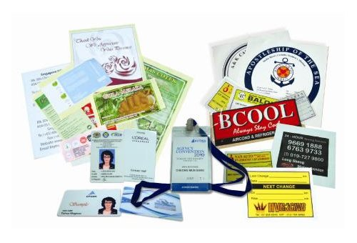 ID Card, Computer Form Stickers / Labels