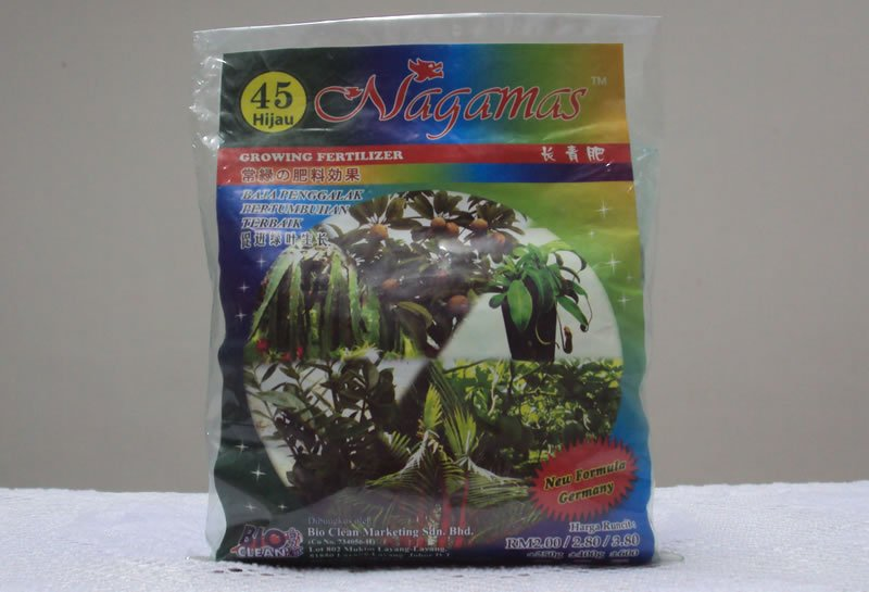 Nagamas Growing Fertilizer 45 400g 5049