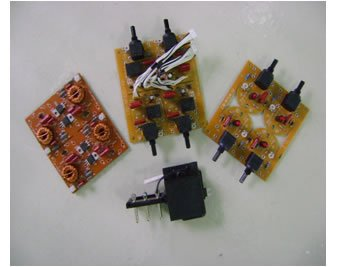 Heater Controller PCB assembly
