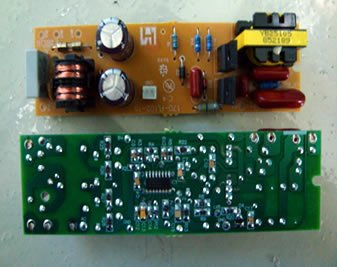Electronic dimmable ballast pcb assembly