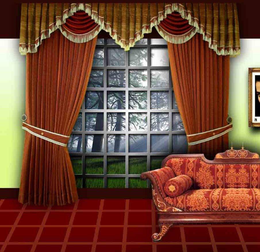 Designer Curtains For Living Room Online India Living Room