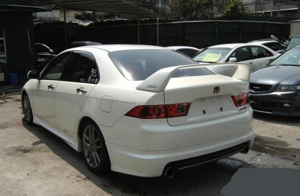 Favorite Trunk Lip Spoiler Acura Tsx Forum