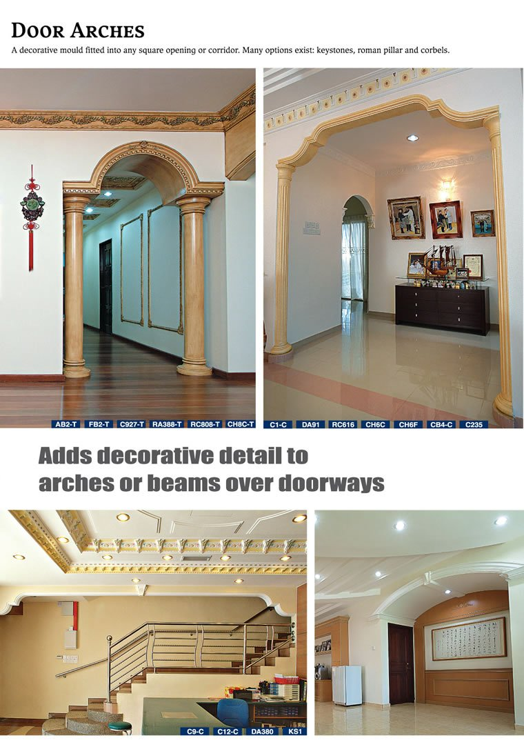 Door arches johor bahru jb malaysia supply suppliers manufacturer of plaster ceiling kiong gay enterprise
