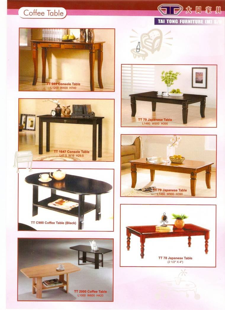 Coffee table other jb johor bahru malaysia furniture for Furniture johor bahru