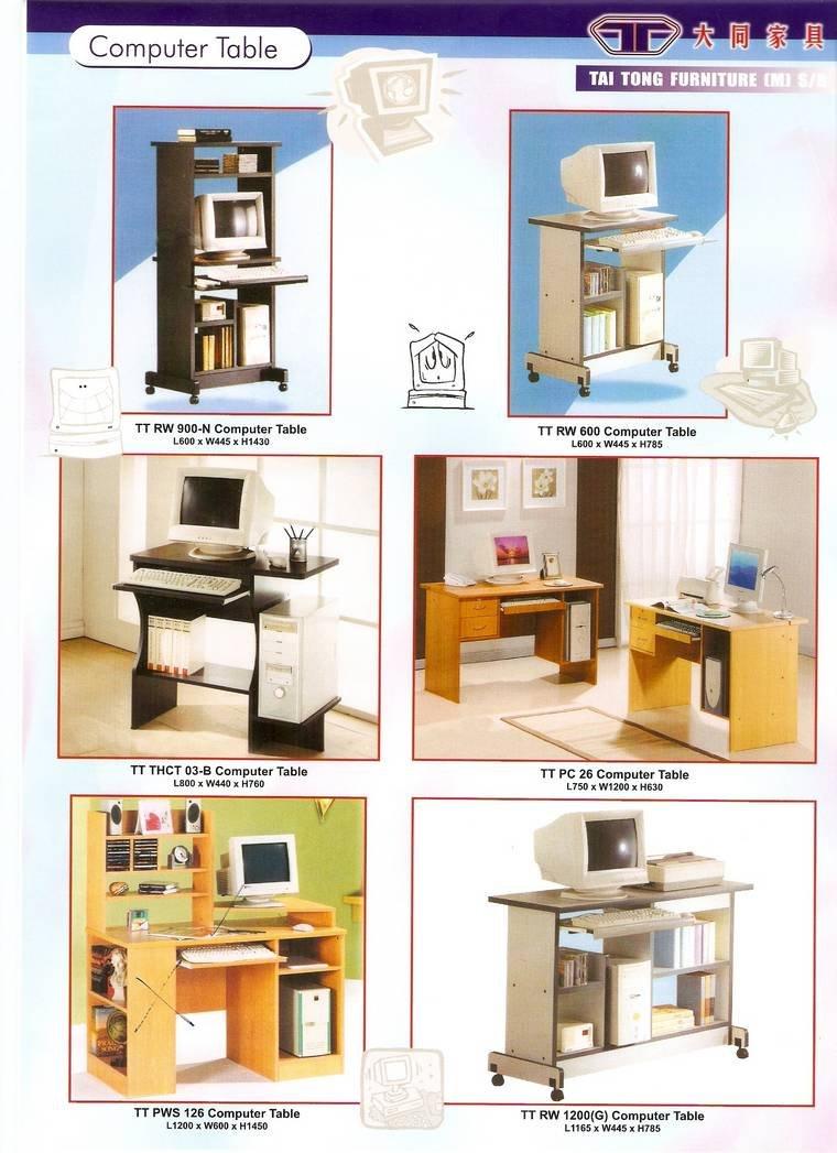 Computer desk jb johor bahru malaysia furniture centre for Furniture johor bahru