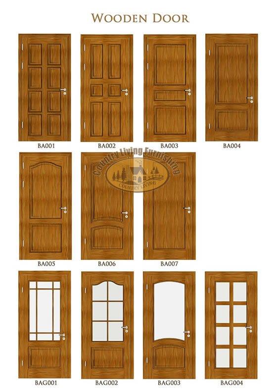 Wooden doors wooden doors johor bahru for Door design johor bahru