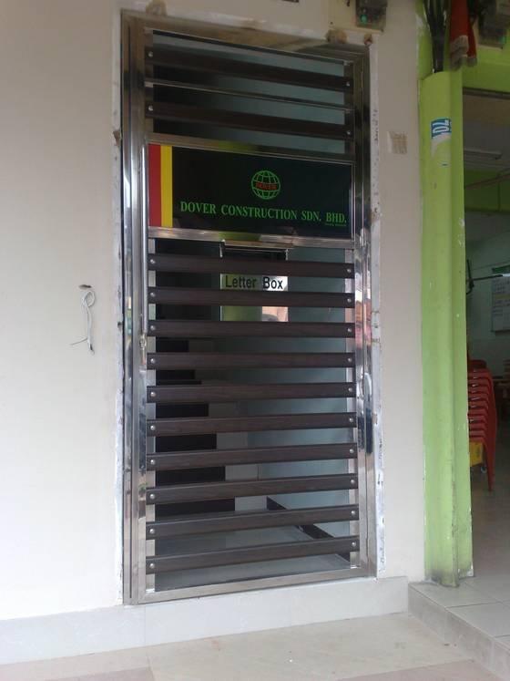 Door grille johor bahru jb malaysia supply suppliers for Door design johor bahru