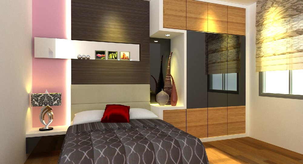 bedroom design. rini hill. mutiara rini.