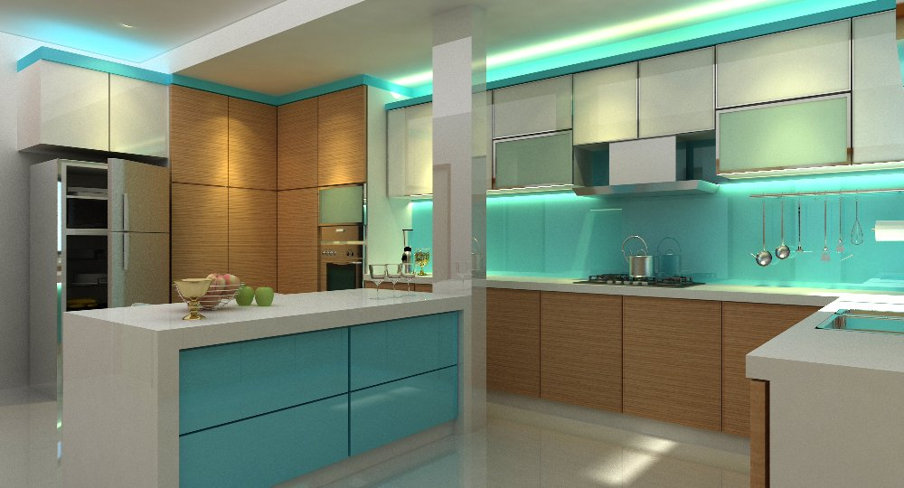 modern kitchen. kitchen design. design of kitchen. island counter