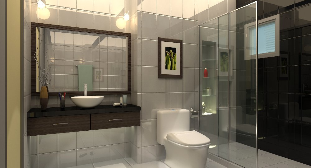 Home ideas modern home design toilet interior design for House simple restroom design