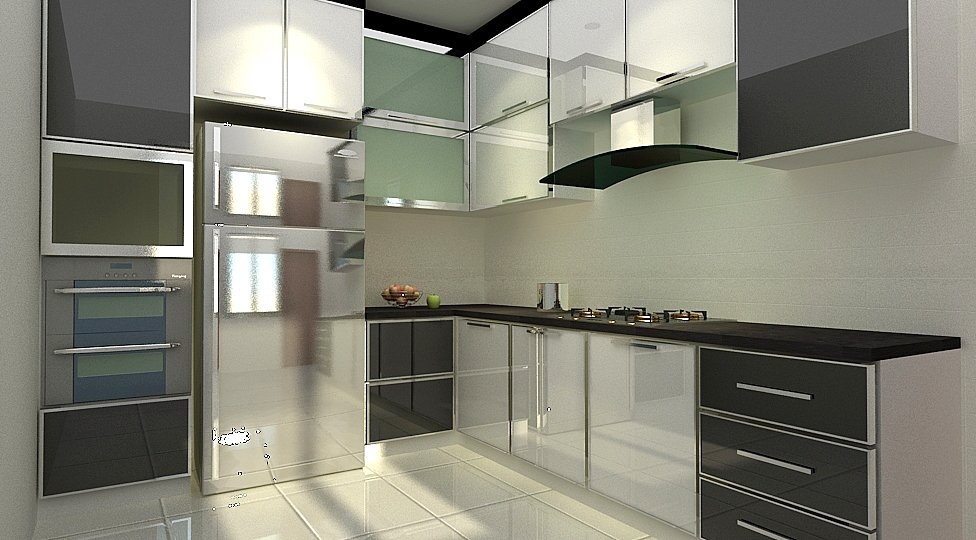 Kitchen house jb interior design renovation for A d interior decoration contractor