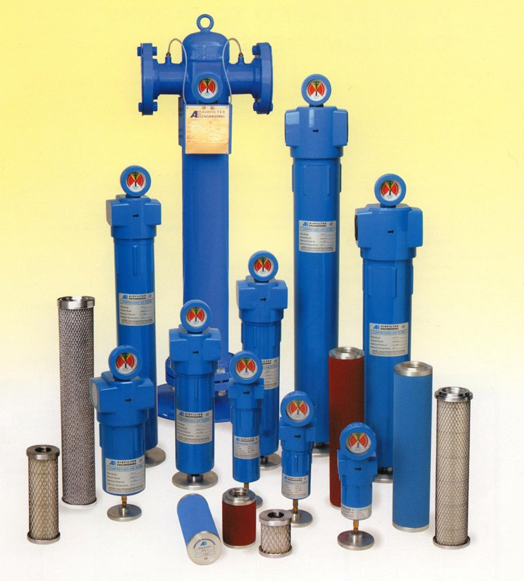 Compressed Air Filter and Compatible Air Filter