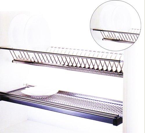 Kitchen Cabinet Supplier Malaysia: Dish Rack Stainless Steel Johor Bahru JB Malaysia Basket