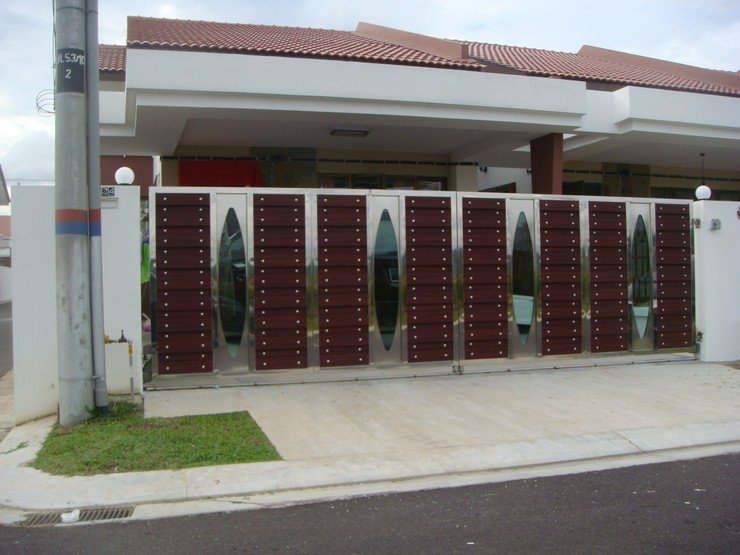 Security doors security door johor bahru for Door design johor bahru