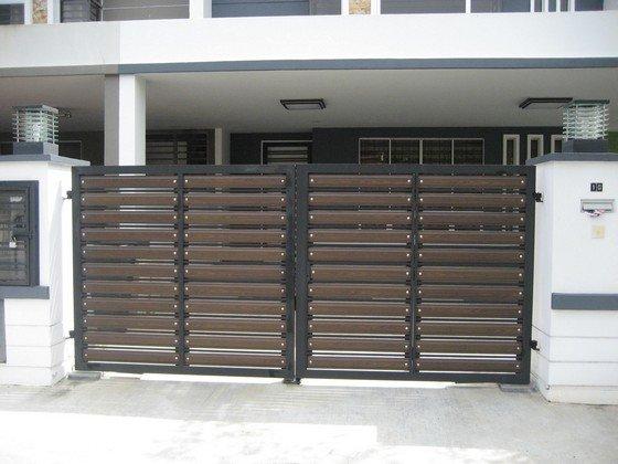 Main gate johor bahru jb malaysia supply design install for Door design johor