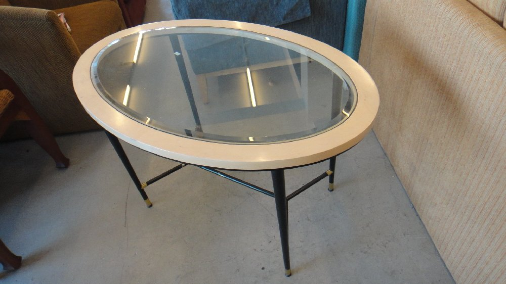 York Hotel Oval Shape Coffee Table