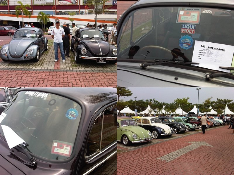 Beetle Car Show at Sutera Mall