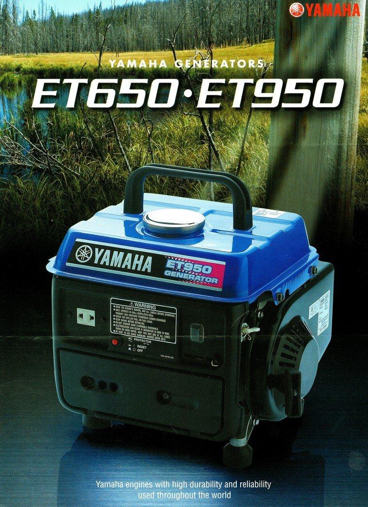 Yamaha Et950 Generator ★ Yamaha Johor Bahru Jb Malaysia