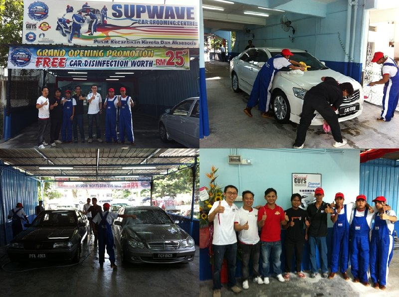 Penang Franchise Grand Opening on 4th July 2011