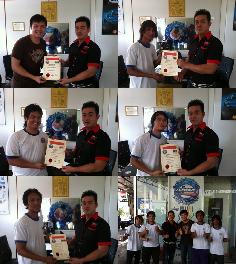 Ara Damansara Franchise - Detailing Course Certificate Presentation