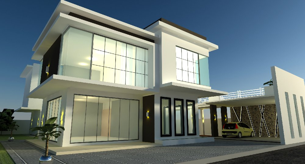 Pics for banglo modern for House interior design johor