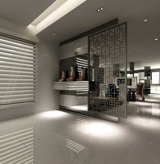 Kulai palm villa living room kulai palm villa johor for Room interior design sdn bhd
