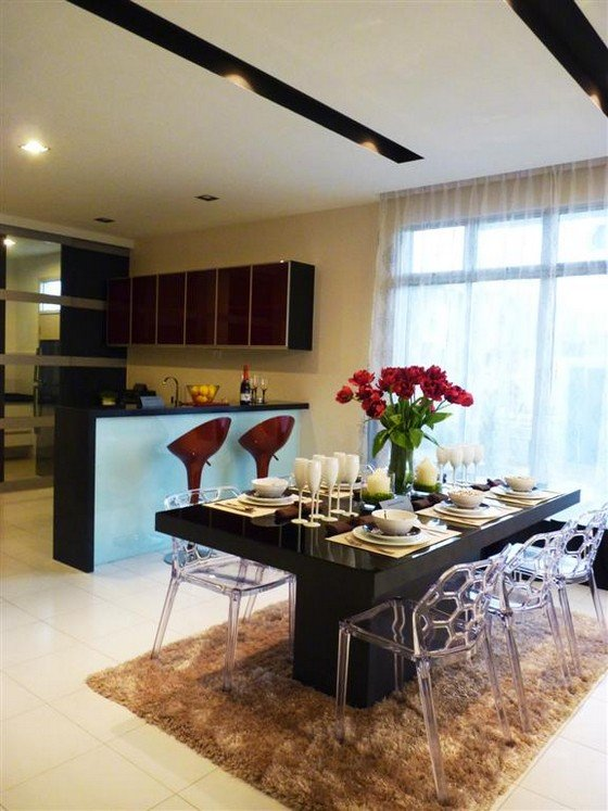 Completed showhouse project desa tebrau actual photo for House interior design johor