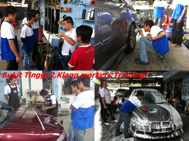 Bukit Tinggi 2,Klang Franchise Workers Training from 2 Oct - 5 Oct 