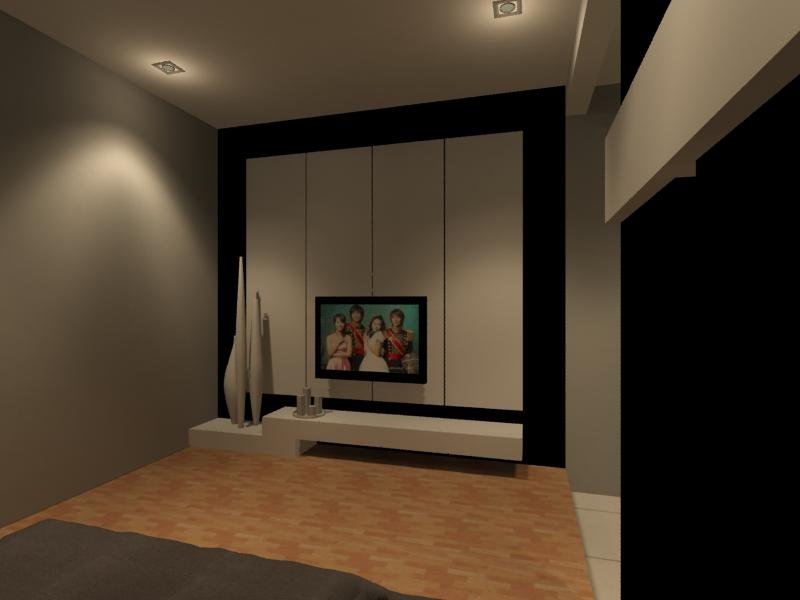 Master Bedroom Tv Console With Feature Wall Like Tic Tac Door To Images Frompo