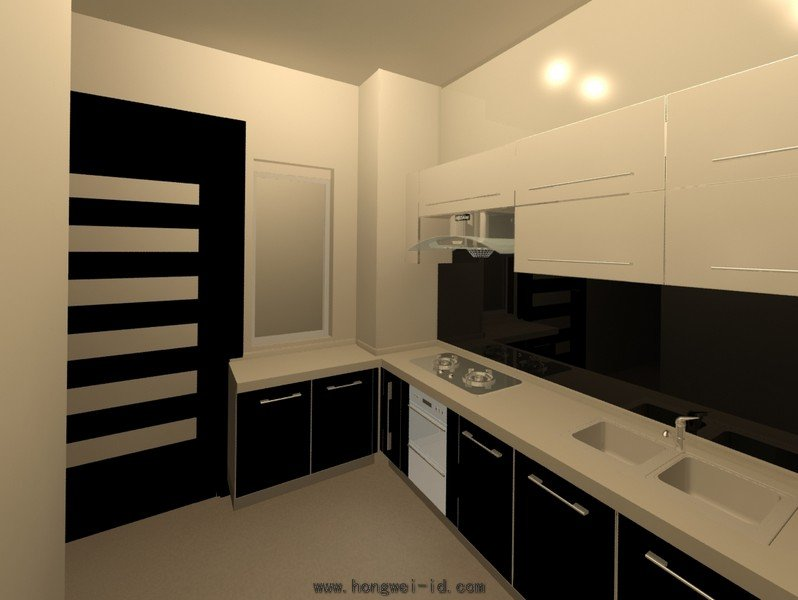 Wet Kitchen Interior Design Residential Kitchen Cabinet Johor