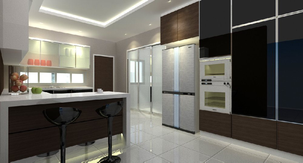 Taman Skudai Baru . Interior Design . Renovation work