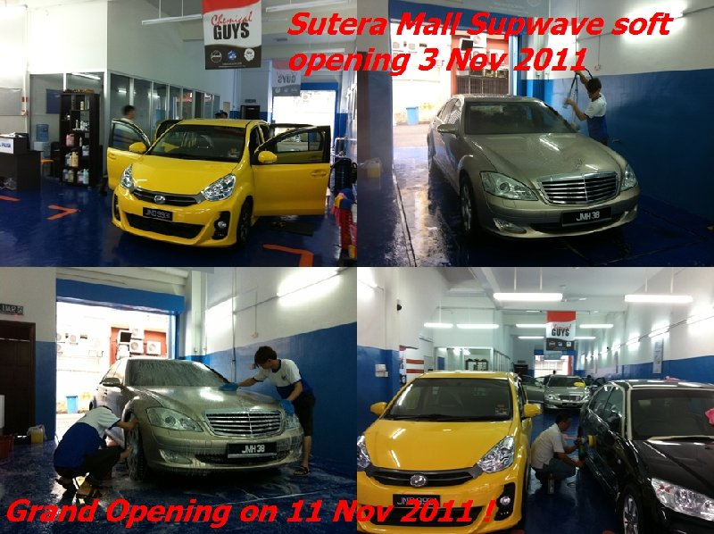 Sutera Mall Supwave Soft Opening on 3 Nov 2011