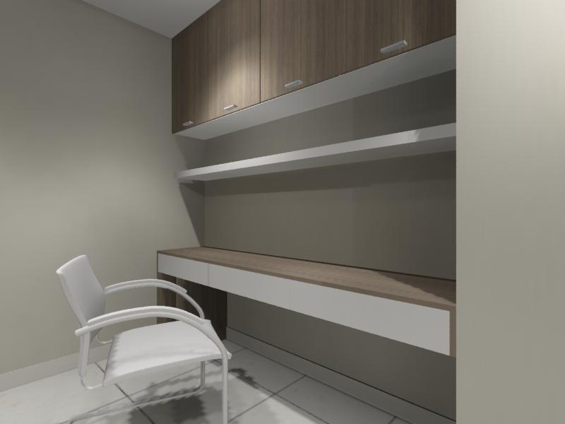 Study Room Interior Design Residential Cabinet Johor