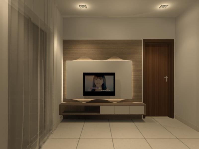 Master Bedroom Tv Console Interior Design Residential Bedroom Johor Bahru Jb Interior