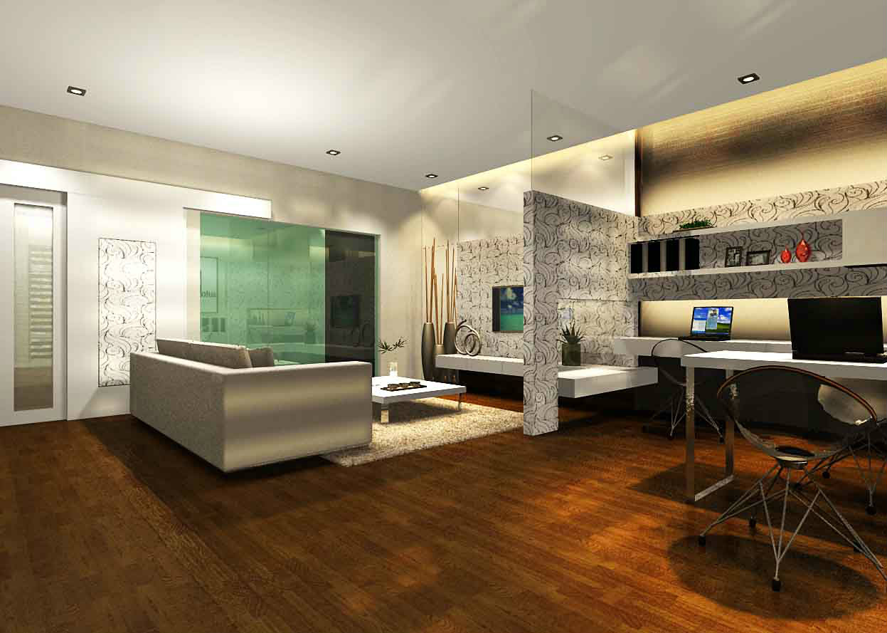 1 Family Hall Study Area 3d Casa Almyra Johor Bahru Jb