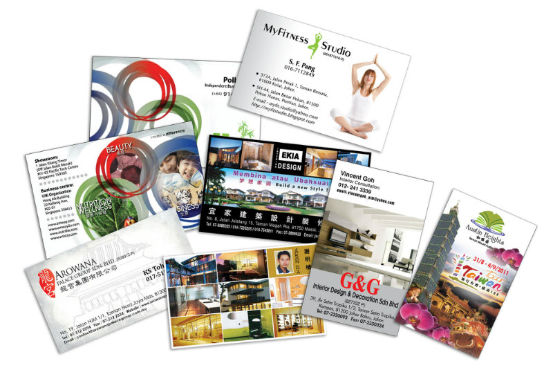 Name card johor bahru jb malaysia design print installation name card reheart Gallery